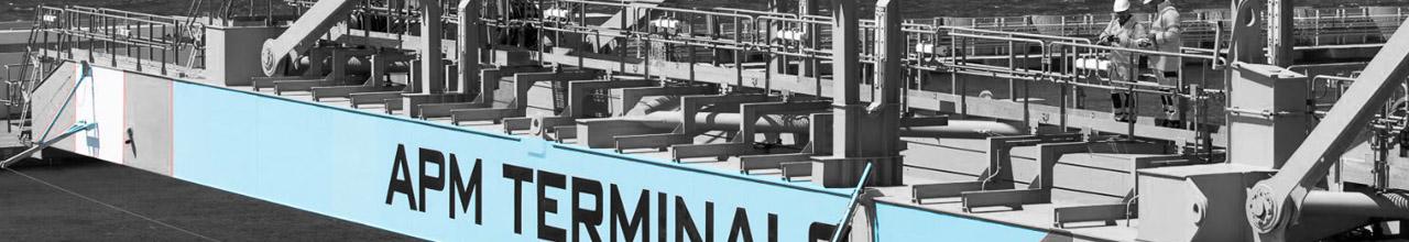 APM Terminals - Grue portuaire