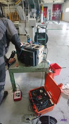 Maintenance BT MasterPact - Injection sur les auxiliaires et protection du disjoncteur
