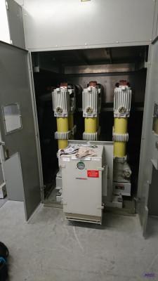 Maintenance disjoncteur contacteur ALSTOM HG Huile