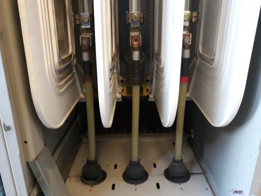 Maintenance Tableau HTA Schneider Electric - Bas de cellule VM6 - problème de connexion