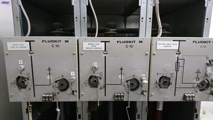 Maintenance Tableau HTA Schneider Electric FLUOKIT M24 - Les commandes