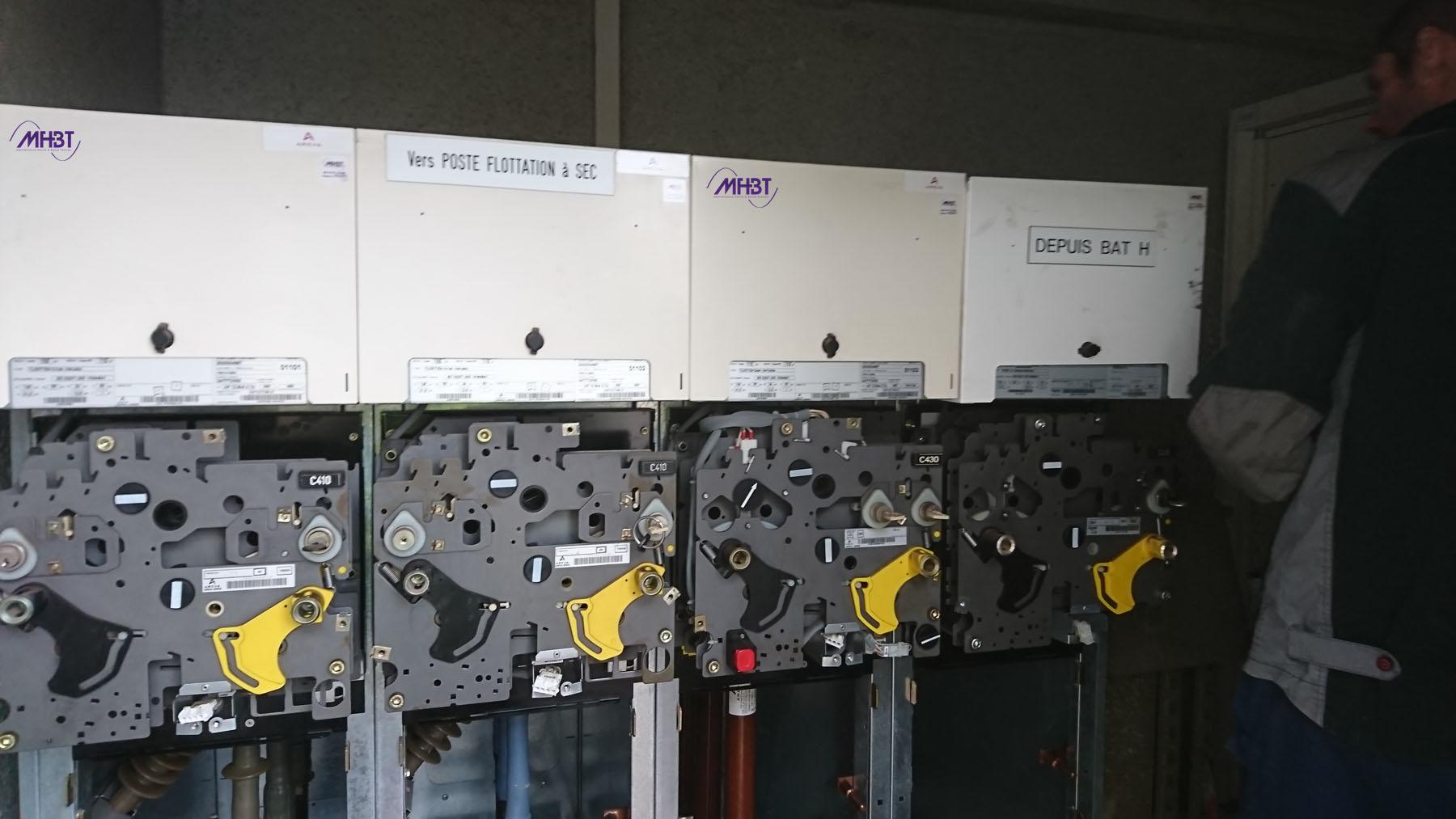 Maintenance tableau HTA Schneider Electric FLUOKIT M24 - Commandes ouvertes