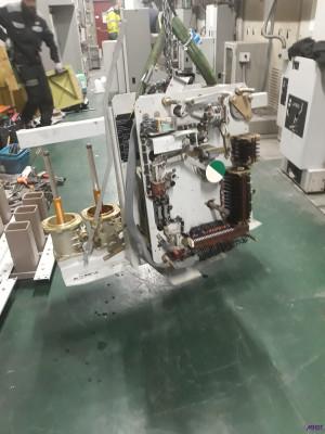 Maintenance disjoncteur HTA huile ALSTOM HL